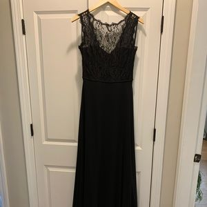 Hailey Paige Occasions Black Lace Dress